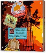 Visit Mineral Wells Acrylic Print
