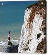 Visiting Beachy Head Acrylic Print