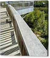 Visitor's Center Lookout Acrylic Print