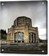 Vista House At Crown Point - Oregon Acrylic Print