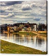 Vistula River In Cracow Acrylic Print