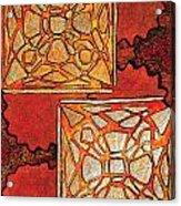 Vitrales II From The Frank Lloyd Wright A Mano Series Acrylic Print