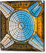 Vittorio Emanuele Gallery - Milan Acrylic Print