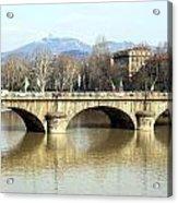 Vittorio Emanuele I Bridge Acrylic Print