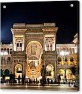 Vittorio Emanuele II Gallery Acrylic Print by Michal Bednarek