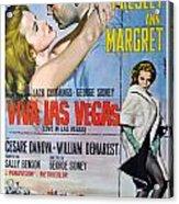 Viva Las Vegas Poster By Georgia Fowler