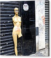 Viva O Meu Corpo - Sao Paulo Acrylic Print by Julie Niemela