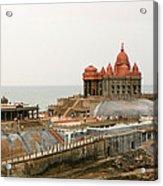 Vivekananda Memorial Acrylic Print