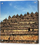 Vivid Borobudur Acrylic Print