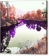 Vivid River Acrylic Print