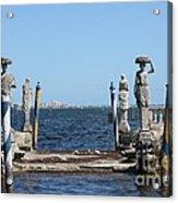 Vizcaya - The Pier Acrylic Print