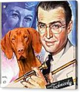 Vizsla Art Canvas Print - The Glenn Miller Story Movie Poster Acrylic Print