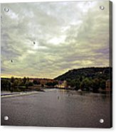Vltava View Revisited - Prague Acrylic Print