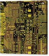 Vo96 Circuit 5 Acrylic Print