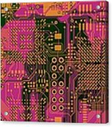 Vo96 Circuit 6 Acrylic Print