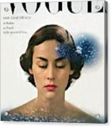 Vogue Cover Featuring Joan Petit Acrylic Print