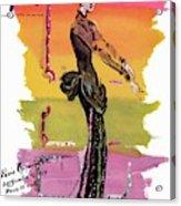 Vogue Cover Illustration Acrylic Print
