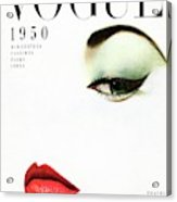 Vogue Cover Of Jean Patchett Acrylic Print