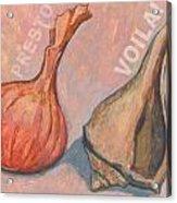 Voila Acrylic Print