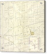 Vol. 1. Plate, N. Map Bound By Brooklyn Ave., City Line Acrylic Print