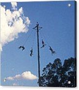 Voladores El Tajin Mexico Acrylic Print