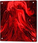 Red Volcanic Dreams Acrylic Print