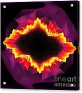 Volcanic Explosion Acrylic Print