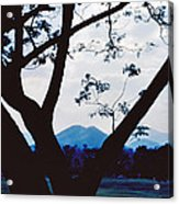 Volcano Mt. Pinatubo In Phillipines Acrylic Print