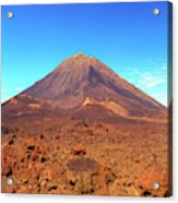 Volcano On Fogo, Cape Verde Islands Acrylic Print
