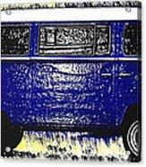 Volkswagon Microbus Acrylic Print