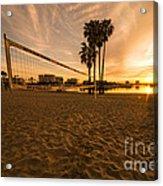 Volley Sunrise  Acrylic Print