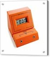 Voltmeter Acrylic Print