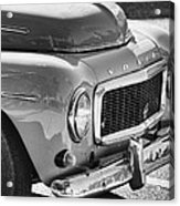 Volvo Black And White Acrylic Print