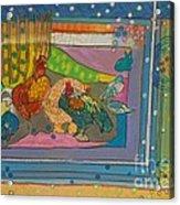 Vondelpark Chicken Acrylic Print