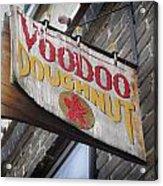 Voodoo Doughnuts Acrylic Print