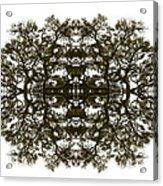 Voodoo Mask Acrylic Print