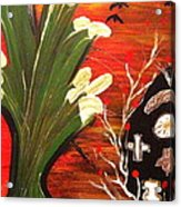 Voodoo Acrylic Print by Pretchill Smith