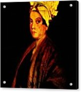 Voodoo Queen - Marie Laveau Acrylic Print