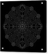 Vortex Inverse Acrylic Print