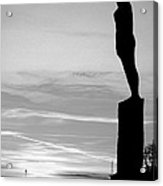 Voyage Statue Hull Acrylic Print by Anthony Bean