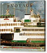 Voyage To Puget Sound Acrylic Print