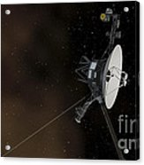 Voyager 1 Spacecraft Entering Acrylic Print