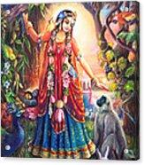Vrinda Devi Acrylic Print