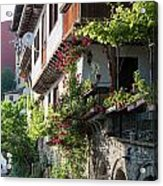 V. Turnovo Old City Street View - Bulgaria Acrylic Print