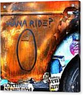 Vw Beatle I Acrylic Print by Ed Pettitt