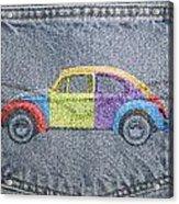 Vw Beetle Acrylic Print