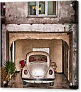 Vw Beetle Painting Acrylic Print
