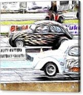 Vw Beetle Race Acrylic Print