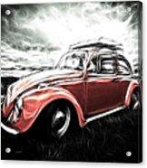 Vw Bug Art Acrylic Print