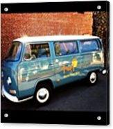 #vw #bus #marinelayershirts #venice Acrylic Print
